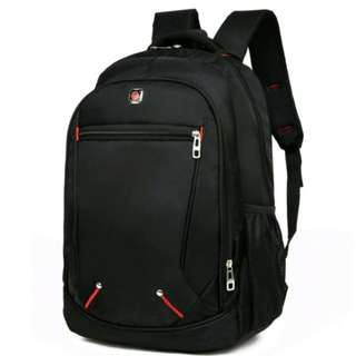 #SOLID BLACK BACKPACK BRAND NEW