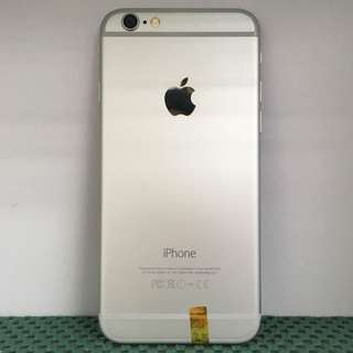 iPhone 6 16GB Silver Like-New Condition