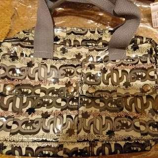 Xgirl 日本製 灰色 手挽袋 99%new 原價 $1xxx