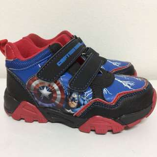 Toddler Shoes- Captain America- INCD POSTAGE