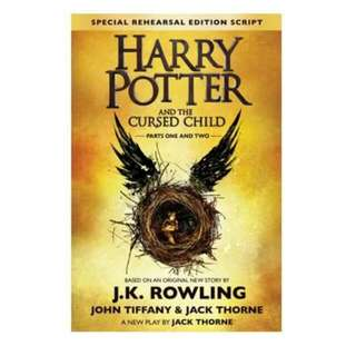 NEW Harry Potter And The Cursed Child Parts 1 And 2