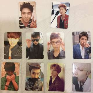 Super Junior Official Photocard from Album
