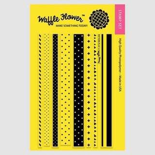 Waffle Flower Pattern Play Stamp Set