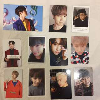 Got7 Official Photocard from Album