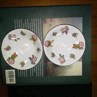 plates x 2