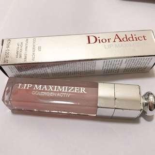 Dior lip gloss骨膠原唇彩