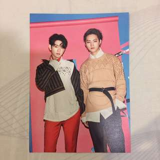 Got7 Flight Log Album Arrival Card (JJ PROJECT)