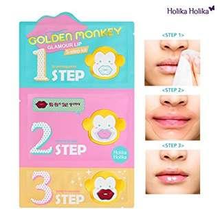 Holika golden monkey lips mask