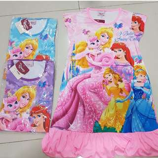 Disney princess sleep dress