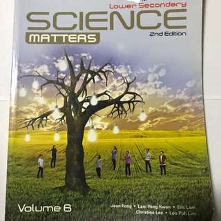 Lower Secondary SCIENCE Matters 2nd Edition volume b
