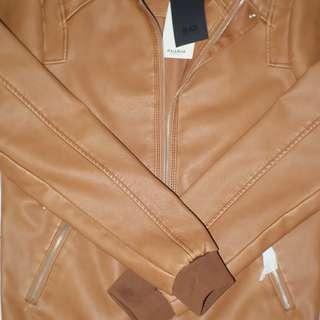Pull&Bear Faux Leather Jacket Original