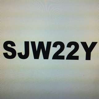 SJW22Y Nice twin digit number for sale