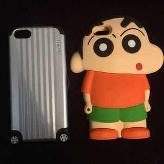 IPhone 5s case 手機殼 2個