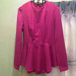 Poplook pink top