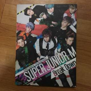 super junior m break down專輯