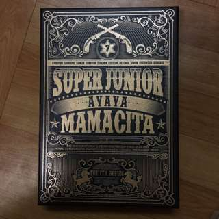 super junior mamacita 專輯