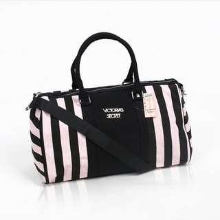 Victoria Secret Travel Bag Stripe Original