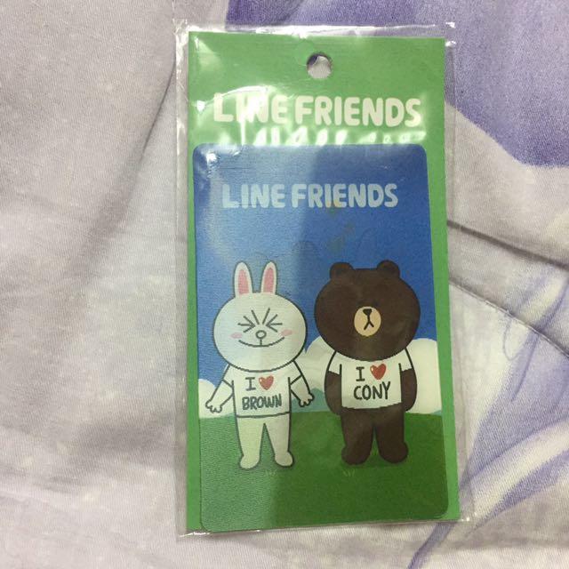 3D卡貼 熊大兔兔