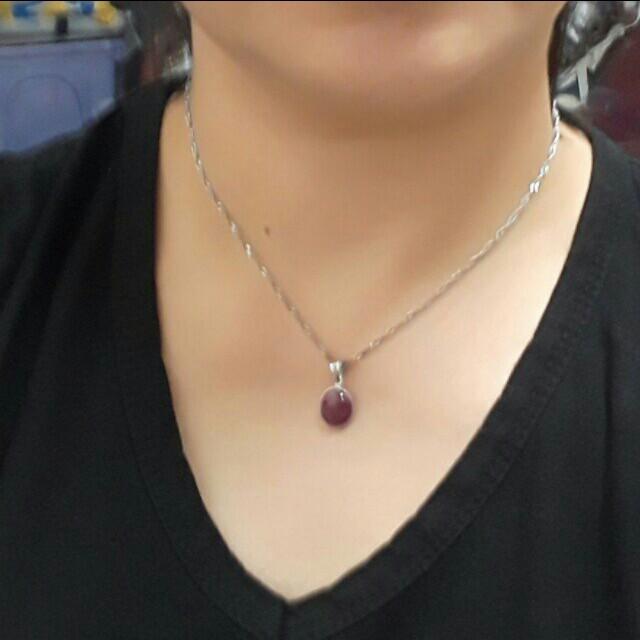 🍭項鍊紅寶石跟🍭手鍊兩個一起賣