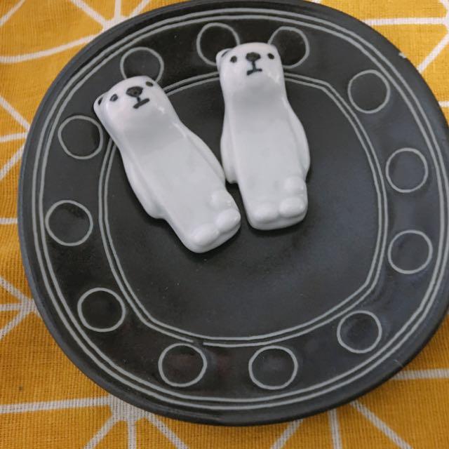 鹿早~北極熊筷子架
