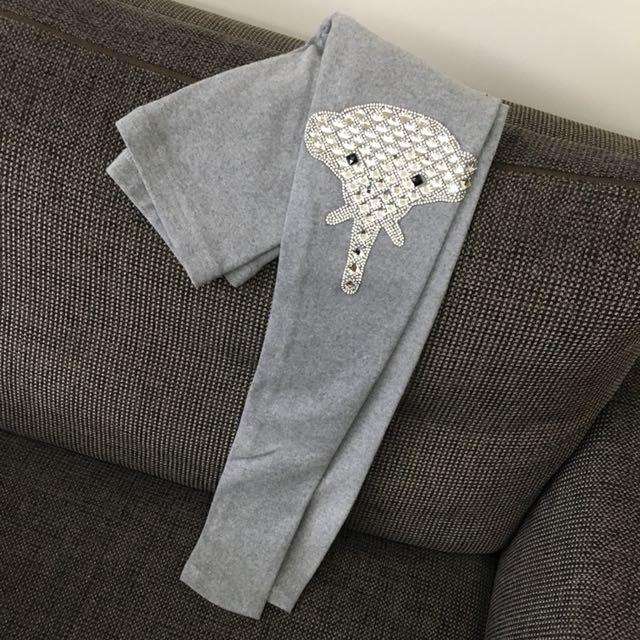 全新✨厚棉內搭褲 購入700半價售