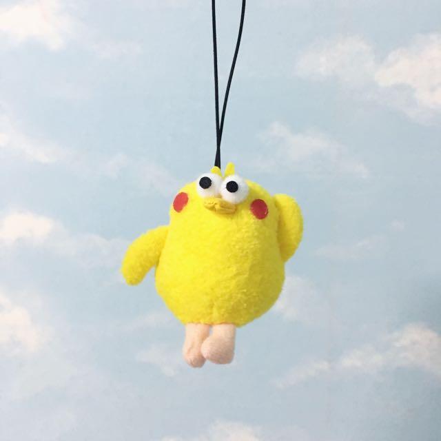 脆皮鸚鵡弟弟 玩偶吊飾