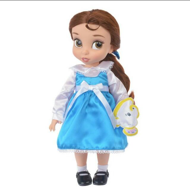 日本帶回 美女與野獸 貝兒 正版 娃娃