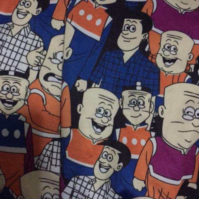 🔴私物🔴老夫子內搭褲 童趣 兒時童年 卡通圖案卡通人物