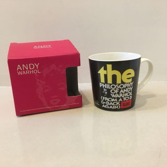 安迪·沃荷 Andy Warhol 馬克杯 藝術 普普