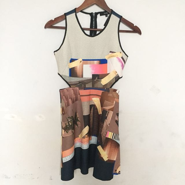 Abstract Pattern Dress