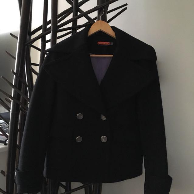 Alice & Olivia wool/cashmere Jacket