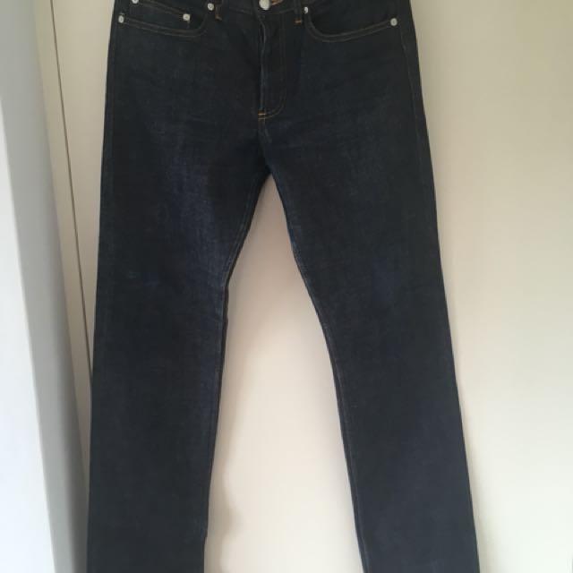 A.P.C. New Standard straight leg jeans 30