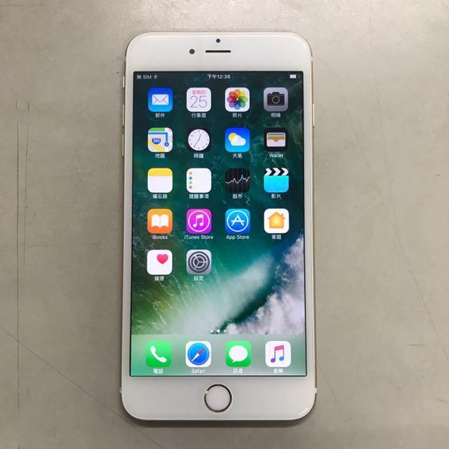 APPLE IPHONE 6 PLUS 16G 金色!