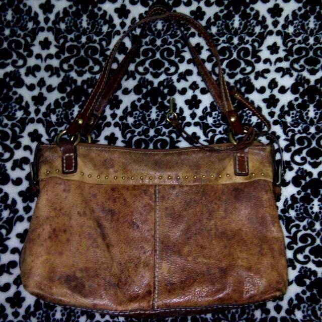 Authentic Fossil Handbag