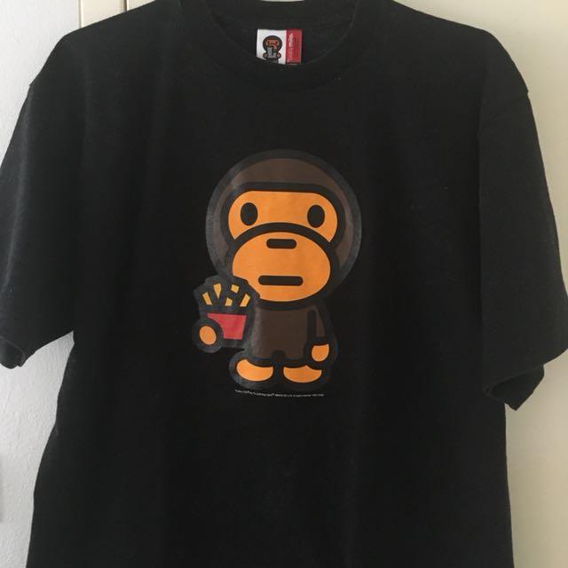 BAPE Baby Milo by A Bathing Ape T-shirt L