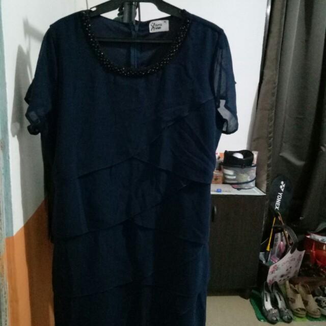 Xara Blue Dress XXL
