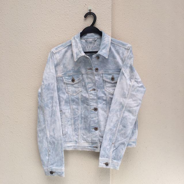 BN Esprit Paint Wash Oversized Denim Jacket