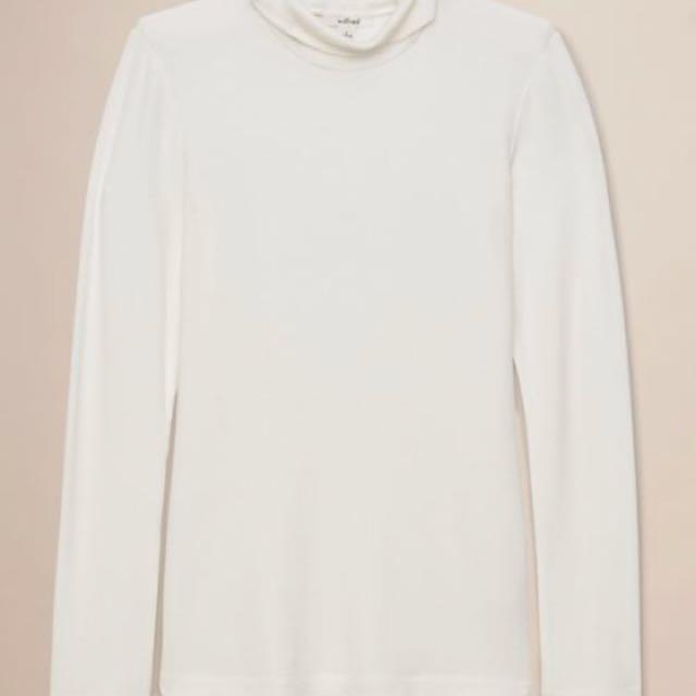 BNWT Aritzia Wilfred Huet Shirt- Oak XS