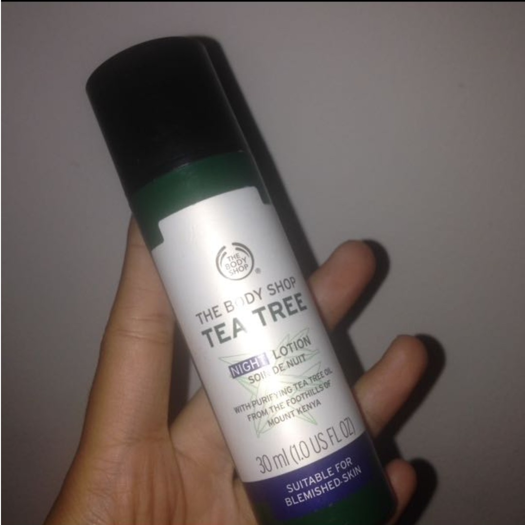 Body Shop Tea Tree Night Lotion