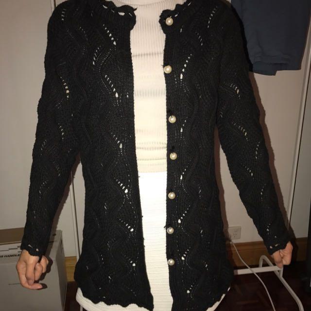 Brand new Women black cardigan