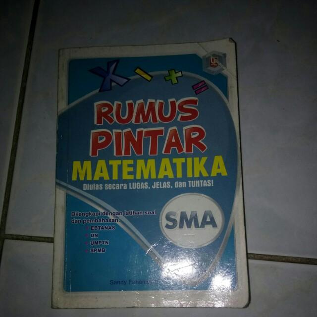 Buku rumus Matematika SMA
