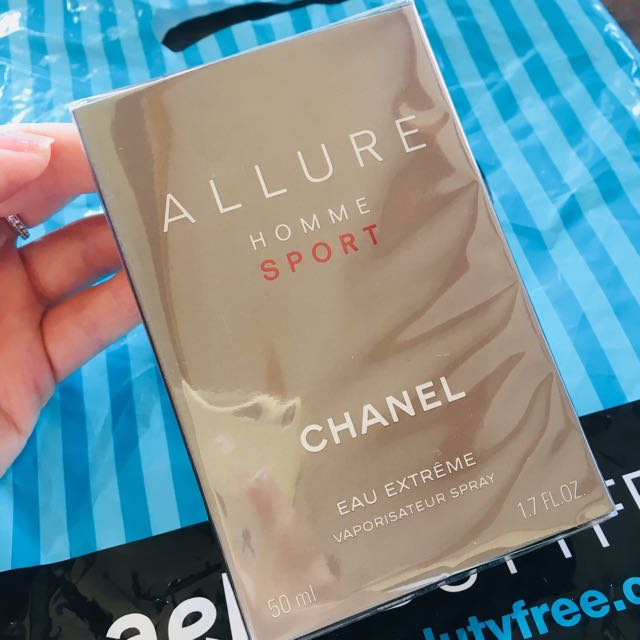 Cheney Allure Sport men's perfume
