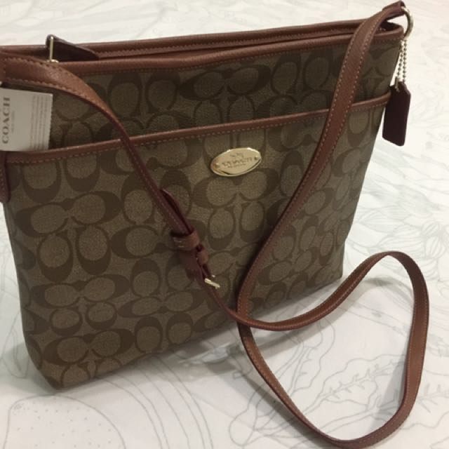 dec9eb8e432e ... coupon code coach signature file crossbody bag f34938 brand new 100  authentic. tag on. czech ...