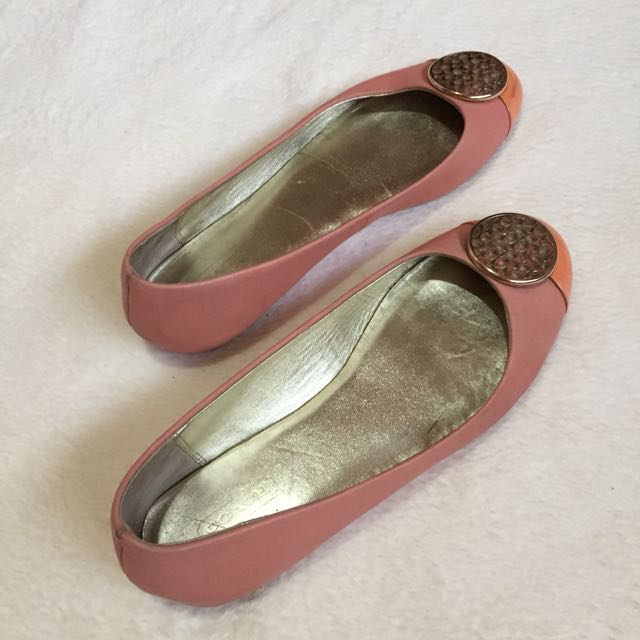 ba51f6061cb reduced lyst coach chelsea in pink 8e27b 6a937  sale coach flat shoes luxury  apparel on carousell 85727 47a14