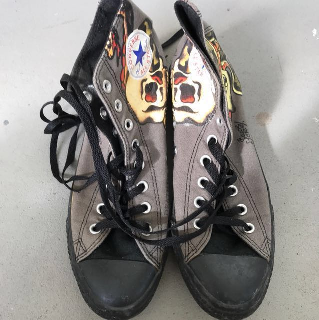 cf802a8f7bad 👟👟Converse Sailor Jerry High Cut Sneakers