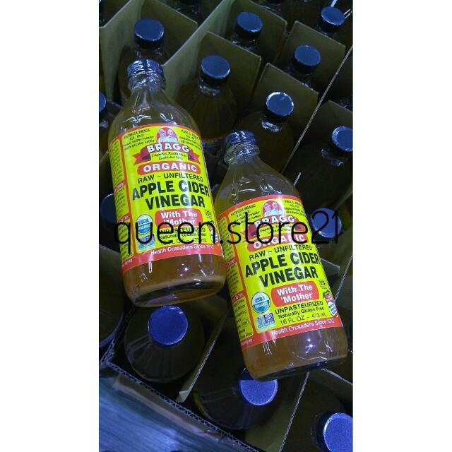 Cuka Apel Bragg 473ml Medan
