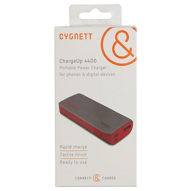 Cygnett ChargeUp 4400 portable charger power bank