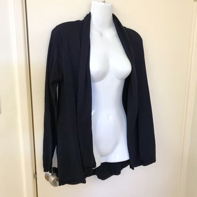 Dark Navy Blue Zara cardigan size 10 to 12