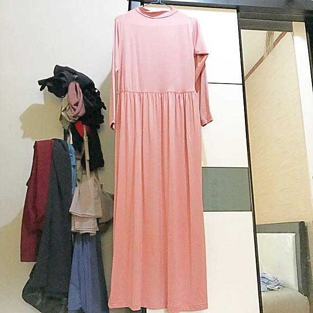 Elzata Basic Long Dress
