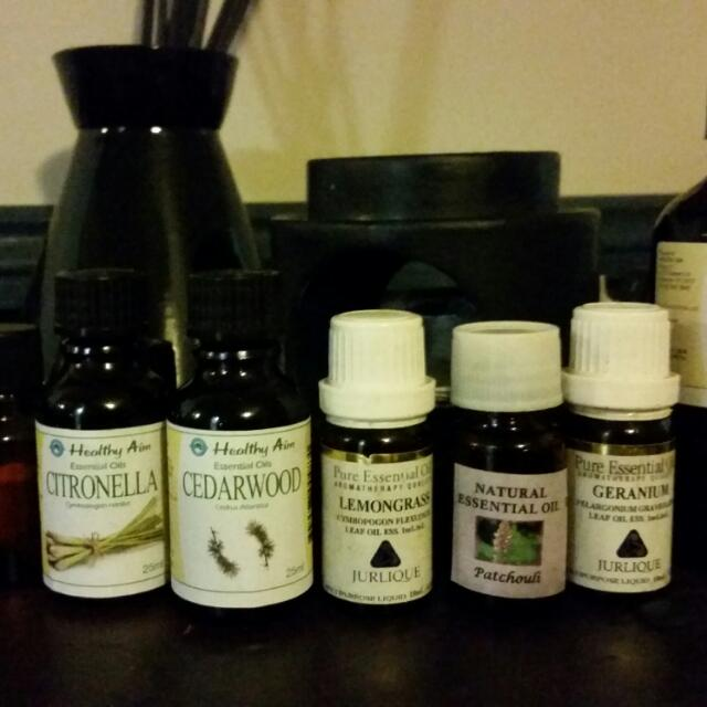 Essential Oil Blend: Mozzie And Sand Fly Repellant.